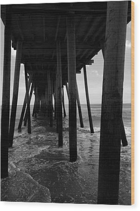 A Day At Virginia Beach #2 Wood Print