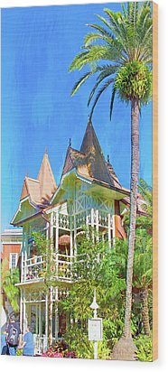 Wood Print featuring the photograph A Day In Adventureland by Mark Andrew Thomas