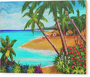 A Day In Paradise Hawaii #359 Wood Print by Donald k Hall