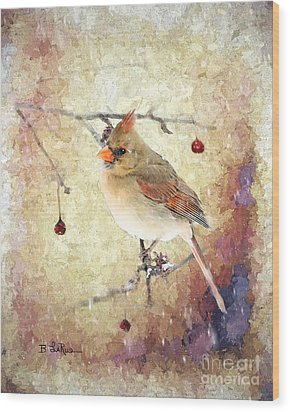 Wood Print featuring the photograph A Delicate Thing by Betty LaRue