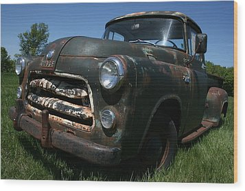Wood Print featuring the photograph A Dodge Classic by William Albanese Sr