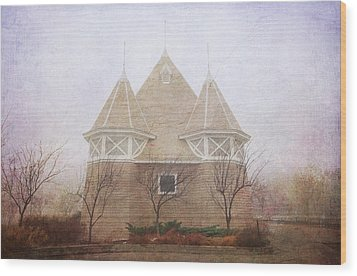 Wood Print featuring the photograph A Fairytale Fog by Heidi Hermes