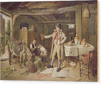 A Fine Attire Wood Print by Charles Hunt