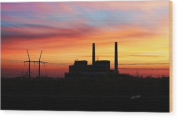 A Gentleman Sunrise Wood Print by Bill Kesler