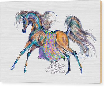 A Gift For Zeina Wood Print by Stacey Mayer