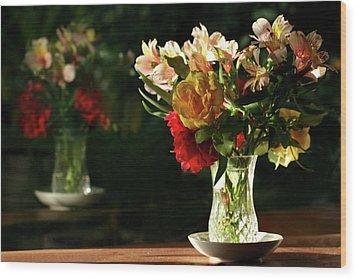 A Light Through Yonder Window Breaks Wood Print by Marion Cullen