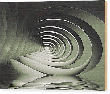 A Memory Seed Wood Print