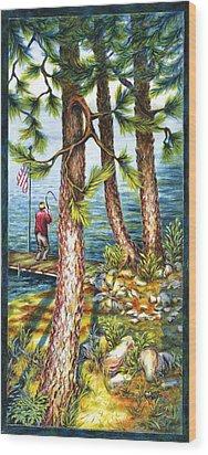 A Minnesota Breakfast Wood Print
