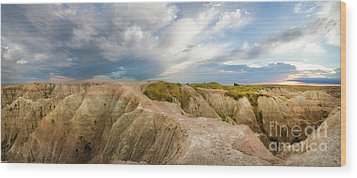 A New Day Panorama Wood Print