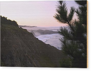 A New Day Ragged Point Wood Print by Gary Brandes