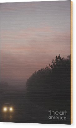 Wood Print featuring the photograph A New Day by Viktor Savchenko