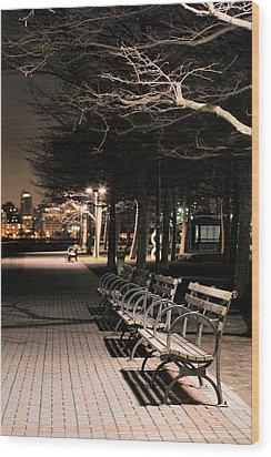 A Night In Hoboken Wood Print by JC Findley