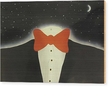 A Night Out With The Stars Wood Print by Thomas Blood