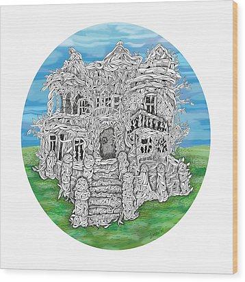 House Of Secrets Wood Print
