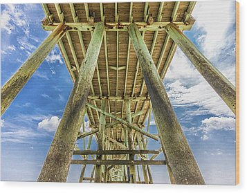 Wood Print featuring the photograph A Place To Chill by Paula Porterfield-Izzo