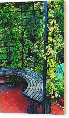 A Quiet Spot To Rest Wood Print