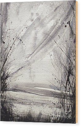 A Random Path Wood Print by Keran Sunaski Gilmore