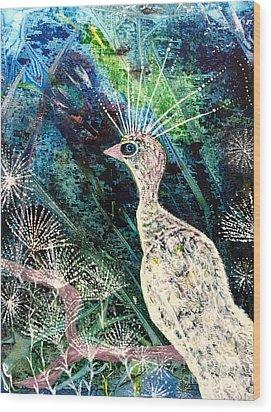 A Rare Bird Wood Print