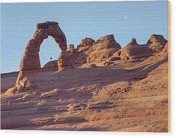 A Red Rock Wonderland. Wood Print