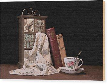 A Relaxing Evening Wood Print by Tom Mc Nemar