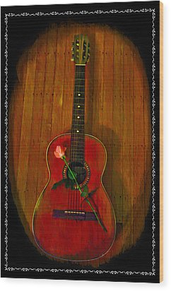 A Song For My Love Wood Print by Bill Cannon