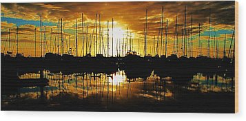 Wood Print featuring the photograph A Sunrise Forever by John King
