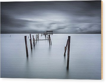 A Test Of Time Wood Print by Jorge Maia