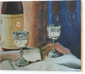 A Toast Wood Print by Dwight Williams