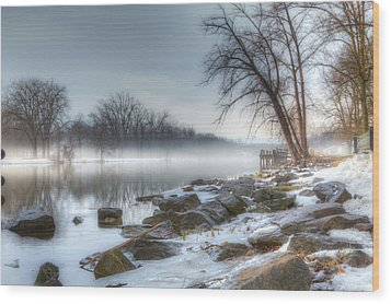 A Tranquil Evening Wood Print by Everet Regal