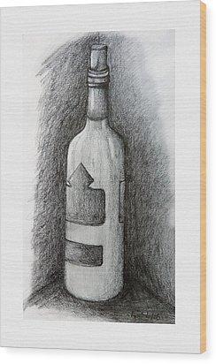 A Very Good Year Wood Print by Ryan Salo