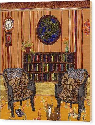 A Victorian Horror Wood Print by RC deWinter