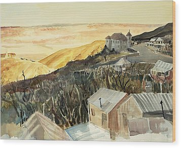 A View From Jerome Wood Print