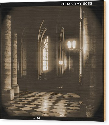 A Walk Through Paris 26 Wood Print by Mike McGlothlen