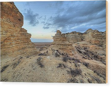 Wood Print featuring the photograph A Western Kansas Sunrise by JC Findley