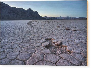 Wood Print featuring the photograph A Windy Place In The Desert by Peter Thoeny