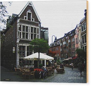 Aachen Wood Print