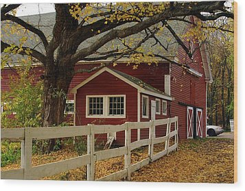 Aaron Smith Farm Autumn 4 Wood Print