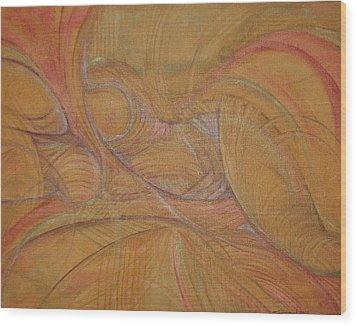 Abalone Wood Print by Caroline Czelatko
