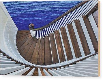 Abandon Ship Wood Print by Paul Wear