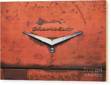 Abandoned 1958 Chevy Wood Print by Arni Katz