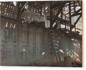 Wood Print featuring the photograph Abandoned by Fran Riley