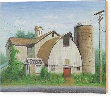 Abandoned Wood Print by Oz Freedgood