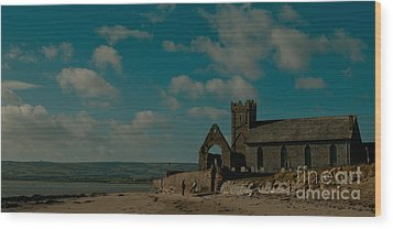 Abbeyside Church Wood Print
