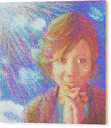 Abiding In Faith Wood Print