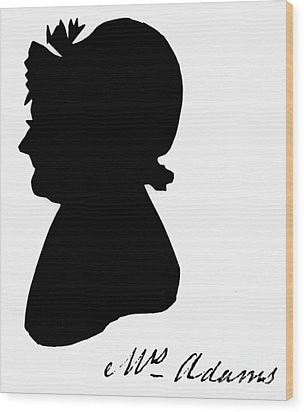 Abigail Adams Wood Print by The Granger Collection