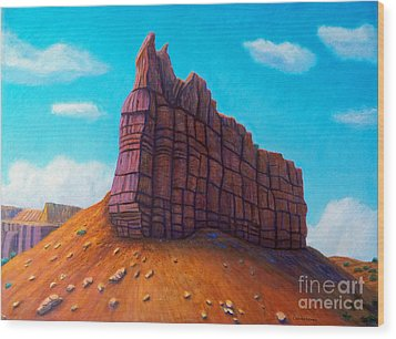 Abiquiu Wood Print by Brian  Commerford