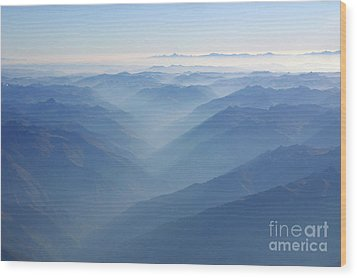 Above The Andes Wood Print by Matt Tilghman