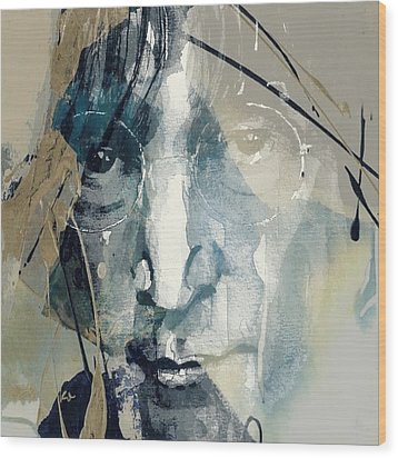 Above Us Only Sky  Wood Print by Paul Lovering