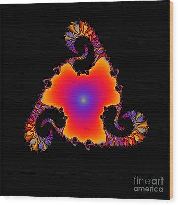 Abstact 14 Wood Print by Rolf Bertram