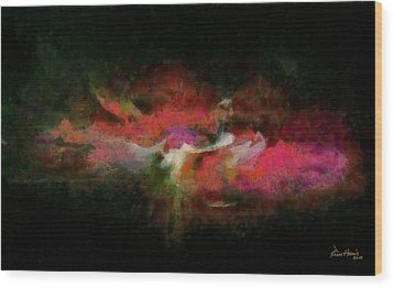 Abstract - Springtime Wood Print by Russ Harris